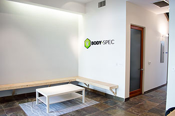 Lobby of BodySpec's Los Angeles location